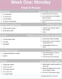 Healthy 6 Week Postpartum Diet Plan For Breastfeeding
