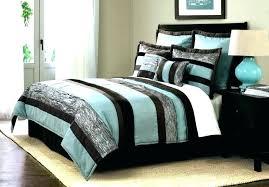brown comforter sets aqua and brown queen comforter sets set bedding photo 5 of blue blue
