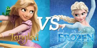 tangled vs frozen disney copy