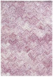 pink and white rug black striped