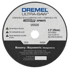 dremel ultra saw blades. dremel ultra-saw 3.5 in. masonry cutting wheel for stone, slate, cement ultra saw blades