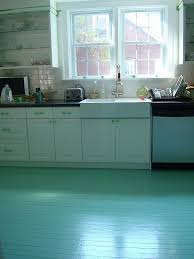 teal painted wood floors what a great diy idea to touch up some old floors
