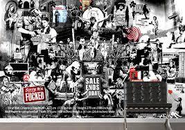 wallpaper photo collage banksy collage 1bw banksy wallpaper printed wall paper free