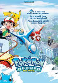 Pokémon Heroes: Latios and Latias (2002) - Posters — The Movie Database  (TMDB)