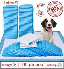 barkleys dog training pad 32 x 45 100 count