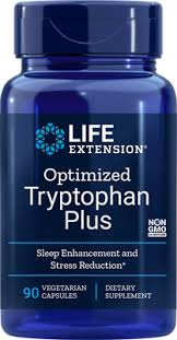 <b>Optimized Tryptophan Plus</b>, <b>90</b> vegetarian capsules - Life Extension
