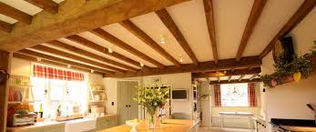 Having a beamed ceiling creates a beautiful room feature while adding  character, value and style.