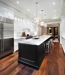 Transitional Kitchen Designs Custom Long Kitchen Island Transitional Kitchen The Design Company