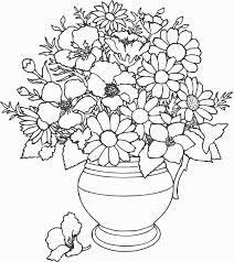 Small Picture How To Draw A Vase Colouring Pages Flower Vase Coloring Coloring