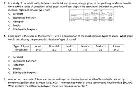 Solved 3 In A Study Of The Relationship Between Health R