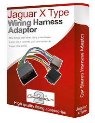 jaguar x type s type iso wiring harness lead loom amazon co uk jaguar x type cd radio stereo wiring harness adapter lead loom iso converter