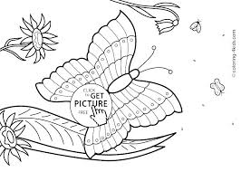 Coloring Free Printable Summer Coloring Page Flower Garden From