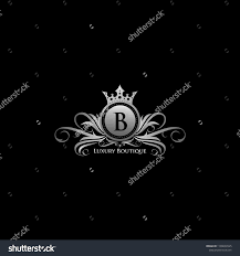 Luxury B B Lake District Grand Designs Silver Queen Luxury B Letter Logo Stock Vector Royalty Free