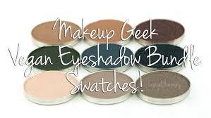 makeup geek vegan shadow bundle swatches vegan makeup geek beach makeup makeup geek eyeshadow