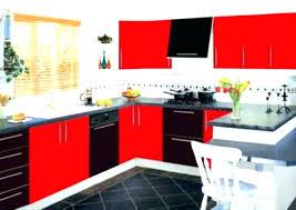 impressive black white and red kitchen ideas red black and white kitchen red