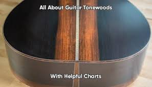 All About Guitar Tonewoods With Helpful Charts Sweet