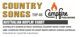 Australian Country Radio Charts Country Songs Top 40 Australian Airplay Chart