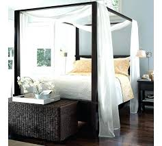 canopy beds with drapes – collegesainteanne.net
