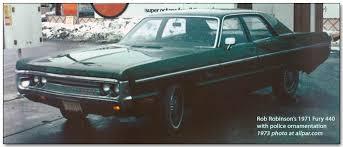 1971 plymouth fury police car