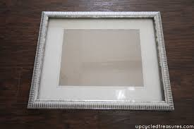 old frame with gold rub n buff