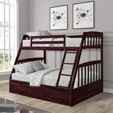 Loft Bed : Merax Solid Wood Storage Twin Platform With 6 Drawers ...