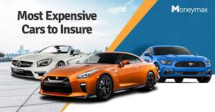 most expensive cars to insure in the