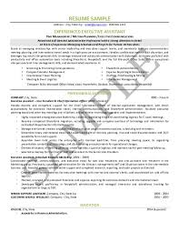 Resume Template Executive Assistant Executive Assistant Resume 650 840 Executive Assistant