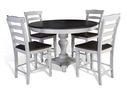 Sunny Designs Bourbon County 5 Piece Round Table Chair Set