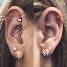 Double Helix Piercing Men Luxury Ohrpiercing Helix Schmuck Neu Ear