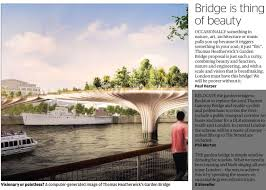 Small Picture Londons proposed Garden Bridge Stunningly beautiful The Lord