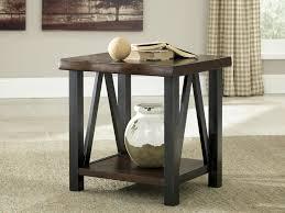 walnut end table. Esmarina - Walnut Brown Rectangular End Table