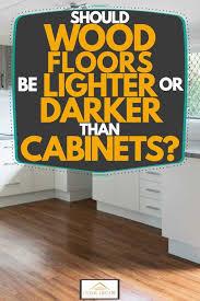 should wood floors be lighter or darker