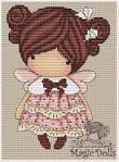 Magic dolls вышивка схема