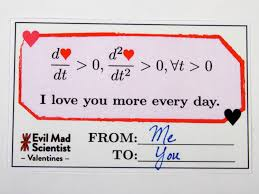 evil mad scientist releases adorably nerdy print your own equation valentines