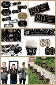 80th birthday ideas for men 80th birthday party ideas the best themes decorations
