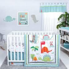 dinosaur crib bedding set bedding cribs country mini wall decor cellular kids neutral deer ivory plaid