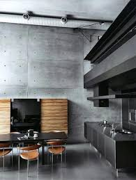 Small Picture 20 Extremely Bold Kitchen Designs With Concrete Wall Rilane