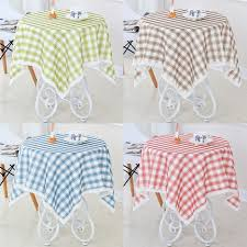 get ations round coffee table waterproof tablecloth square tablecloth small round table cloth fresh plaid table cloth tablecloth