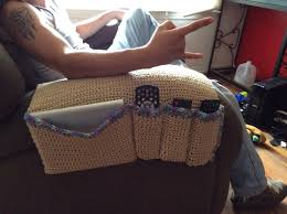 crochet remote holder np inspiration only