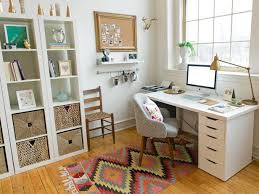 Organizing ideas for home office Diy Neat Home Office With Global Touches Hgtvcom Quick Tips For Home Office Organization Hgtv