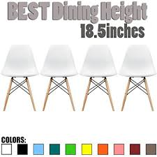 wooden chair side. 2xhome Set Of 4 White Mid Country Modern Chair Molded Shell Designer Assemble Plastic Side Wooden .