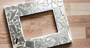 Diy Mosaic Mirror Frames Tutorial