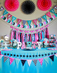 At 40 Party Decorations Monster High Birthday Party Ideas Photo 2 Of 48 Catch My Party