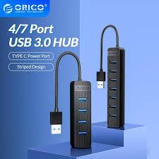 Best Deal #62fffe - <b>ORICO</b> Mini USB 3.0 HUB <b>4 7 Ports</b> USB 3.0 ...