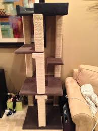 homemade cat tower i ve got to make one of these