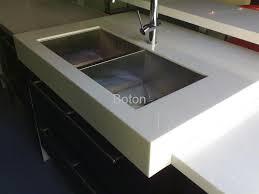 pure white quartz stone slab for kitchen countertop tabletop