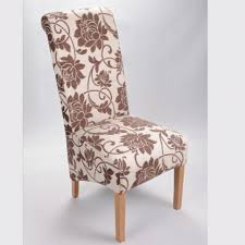 cloth chairs furniture. Chair Classic Dining Chairs Padded Kitchen Fabric Upholstered Cloth Furniture High R