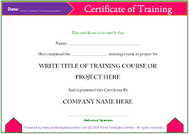 parenting certificate templates the best thing about training certificates is that you can make them