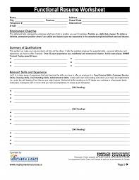 Resume Building Worksheet High School Example And Cover Letter