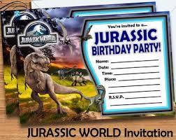 Jurassic Park Invitations Jurassic World Birthday Invitation Template Free Free Kids
